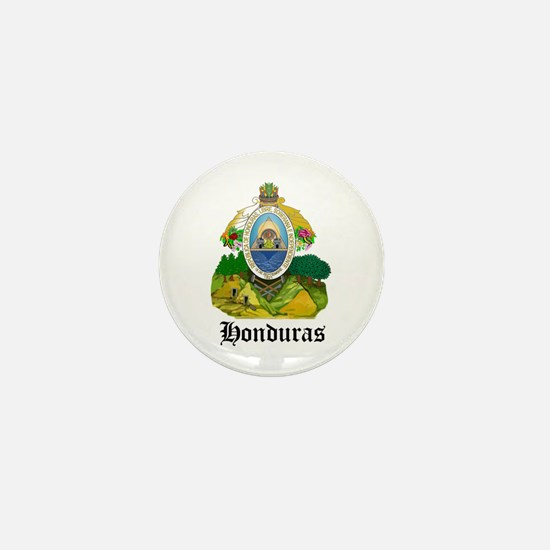 Honduran Coat of Arms Seal Mini Button