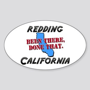 redding california - been there, done that Sticker