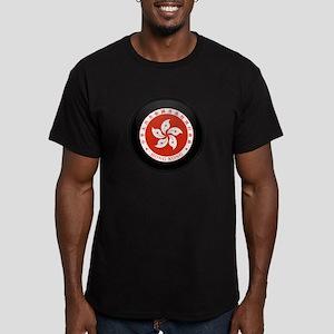 Coat of Arms of Hong Kong Men's Fitted T-Shirt (da
