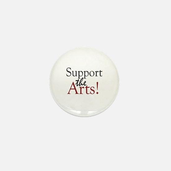 Support the Arts Mini Button