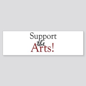 Support the Arts Bumper Sticker