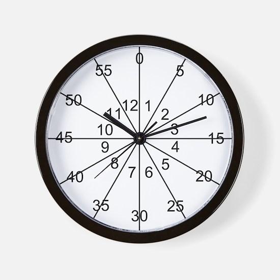Teach Me Wall Clock