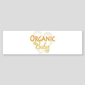 Organic Baby Bumper Sticker