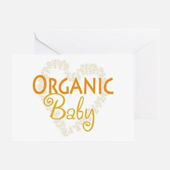 Organic Baby Greeting Card