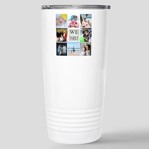 Custom Family Photo Collage Travel Mug