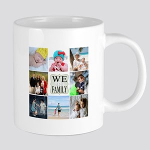 Custom Family Photo Collage 20 oz Ceramic Mega Mug
