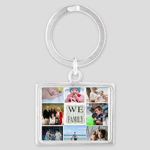 Custom Family Photo Collage Keychains