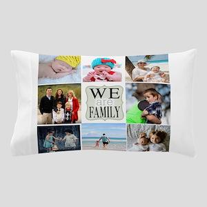 Custom Family Photo Collage Pillow Case