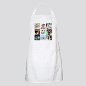 Custom Family Photo Collage Light Apron