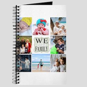Custom Family Photo Collage Journal