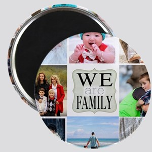 Custom Family Photo Collage Magnets