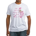 Goat Hearts Fitted T-Shirt