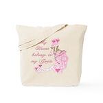 Goat Hearts Tote Bag