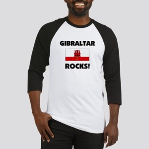 Gibraltar Rocks Baseball Jersey