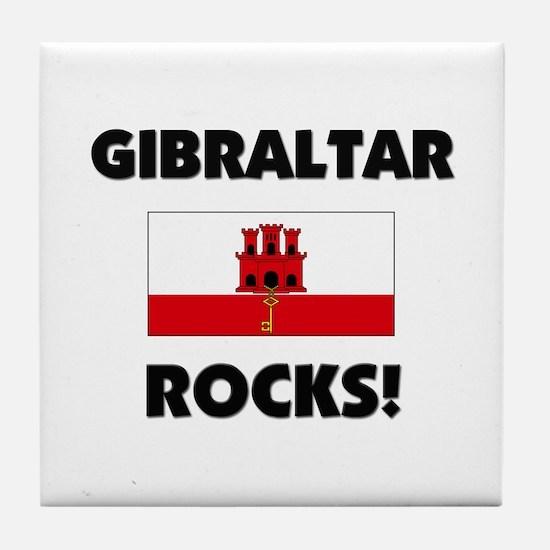 Gibraltar Rocks Tile Coaster