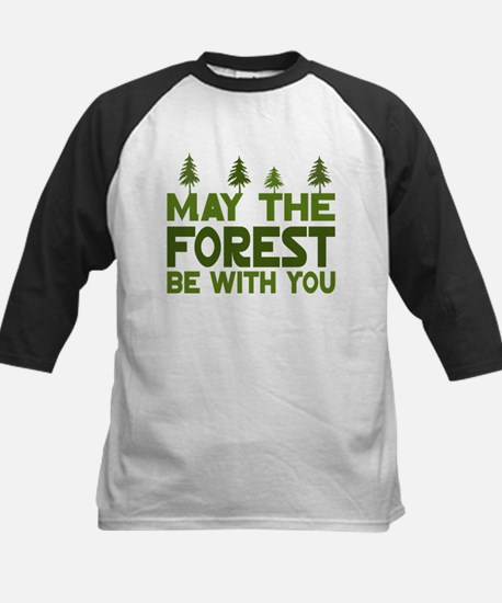 May the Forest.. Kids Baseball Jersey