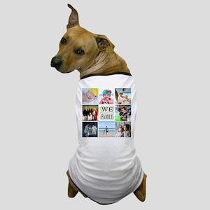 Custom Family Photo Collage Dog T-Shirt