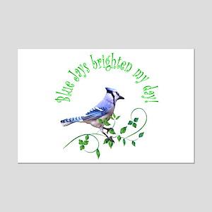 Blue Jay Mini Poster Print