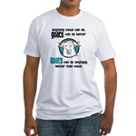 Goats can do Better Fitted T-Shirt