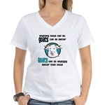 Goats can do Better Women's V-Neck T-Shirt
