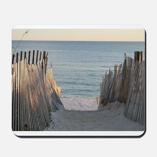 Pathway to Seaside Beach Mousepad