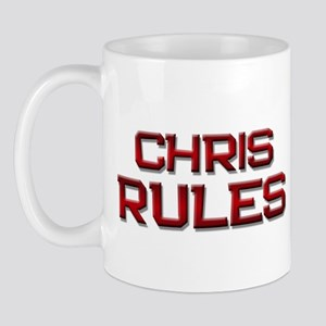 chris rules Mug