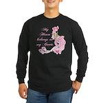 Goat Heart Long Sleeve Dark T-Shirt