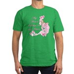 Goat Heart Men's Fitted T-Shirt (dark)