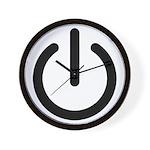 Power Switch Wall Clock
