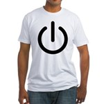 Power Switch Fitted T-Shirt