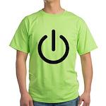 Power Switch Green T-Shirt