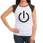 Power Switch Women's Cap Sleeve T-Shirt