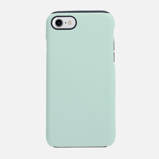 Mint Solid Color iPhone 7 Tough Case