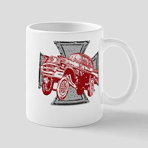 Flying Brick Wear Iron Cross Mug