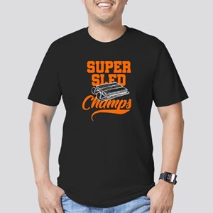 Super Sled Champs, winter, fun, gift, idea T-Shirt