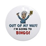 BINGO!! Keepsake Ornament (Round)