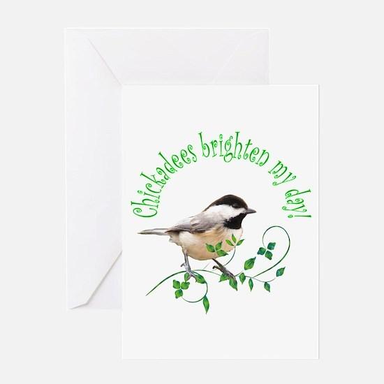 Chickadee Greeting Card