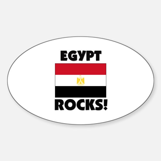 Egypt Rocks Oval Decal