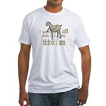 My Goats think I Am Fitted T-Shirt