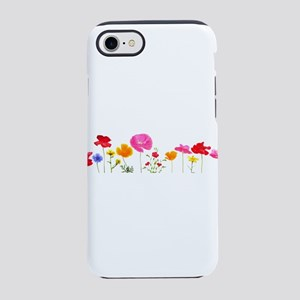 wild meadow flowers iPhone 7 Tough Case