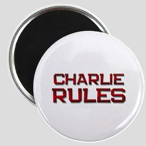 charlie rules Magnet