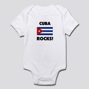 Cuba Rocks Infant Bodysuit