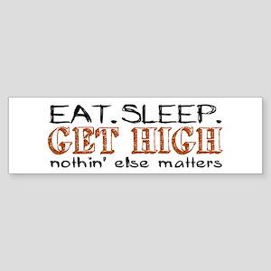 Get High Bumper Sticker