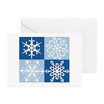 Snowflake Greeting Cards (Blank, Pk of 10)