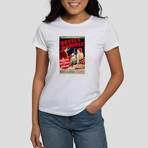 Marijuana Devil's Harvest Pot Women's T-Shirt
