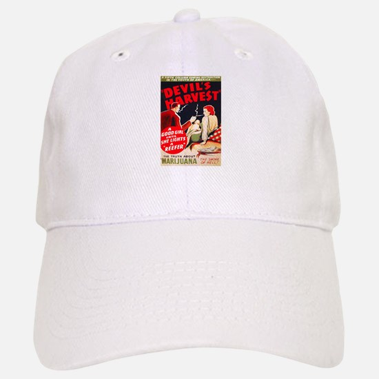 Marijuana Devil's Harvest Pot Baseball Baseball Cap