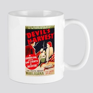 Marijuana Devil's Harvest Pot Mug