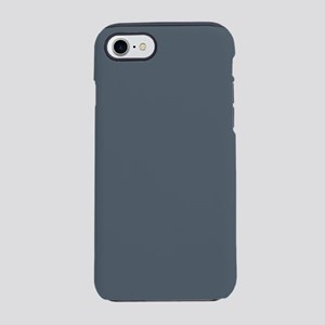 Stormy Weather Solid Color iPhone 7 Tough Case