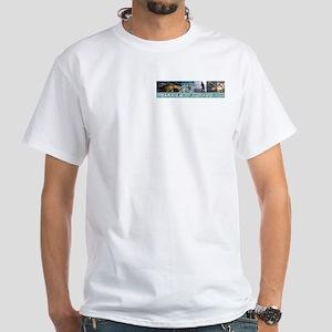 Tails, I win! White T-Shirt