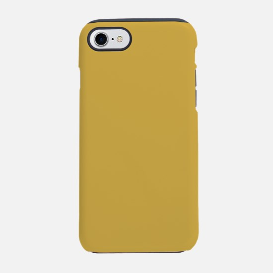 Spicy Mustard Solid Color iPhone 7 Tough Case
